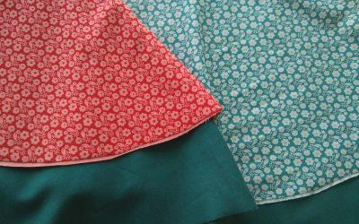Nuevas telas y nuevas falditas!